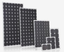 High power generation efficiency mono solar panels