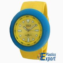 2012 silicone wrist watches women,Geneva watch