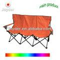 al aire libre de doble asiento de silla de playa plegable