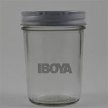8 oz Glass Honey/Jam Jar/Bottle