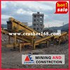 Waste Concrete recycling mobile crusher