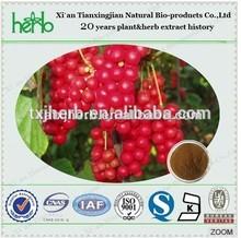 100% natural schisandra /schisandrae chinensis extract schisandrins