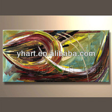 Hot sell modern landscape rural painting