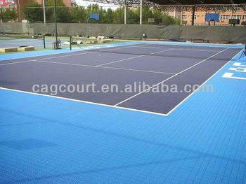 Polypropylene Modular Tennis flooring Guangzhou Manufacturer