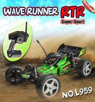 WLtoys L959 RC Car 1:12 Scale 2.4G Remote Comtrol B/C Buggy Model Wave Runner RC Car
