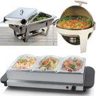 Quality hot food warmer buffet server