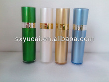 Round Straight cosmetic packing Acrylic Lotion Pump Bottles,
