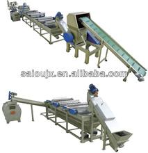 Waste PP PE Film recycling line/plastic film washing line/film washing line