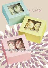 Most popular clear decorative cake paper box
