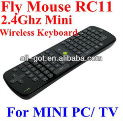 Measy RC11 Mini Fly Mouse 2.4GHz Wireless Keyboard