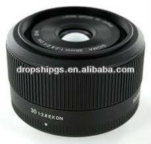 Sigma 30mm F2.8 EX DN Black Lenses for M4/3 Mount DGS dropship wholesale