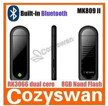 BEST MK809 II mini pc Bluetooth HDMI Dongle Support 3G Android 4.1 Dual Core New Arrival Mk809ii Mini Pc