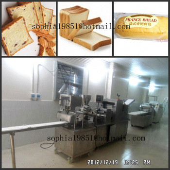 china bread making machine
