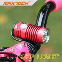 Maxtoch KNIGHT Aluminum LED Bike Light Helmet Mount