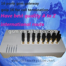 16ports gateway/imei number mobile phones/gsm receiver