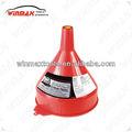 winmax 2 quart de embudo de plástico herramientas de mano wt04580