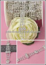 Crystal Trim for Wedding Garter