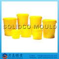 Barril de plástico con tapa de molde
