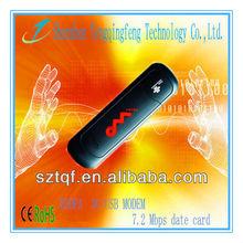 unlocked USB HSDPA 3G modem with 7.2Mbps