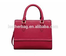 fashion design orstich leather bag woman stylish handbags 2015