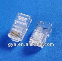 high quality connector unshielded/shielded rj45 modular plug
