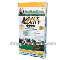 50lbs grass seed packaging bag, kraft paper bag