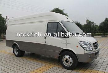 Hot selling truck van with diesel fuel in 2013