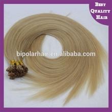 Wholesale European pre bonded keratin tip hair
