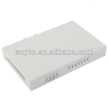 E1 Fiber Modem, 1 Fiber Port PDH Multiplexer