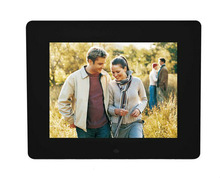 8 inch LCD Digital Picture Frame can play picture/music/video/calendar/clock