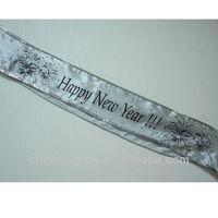 Elegant New Year Party Sash