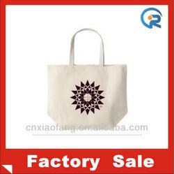 Plain color cotton shopping bag