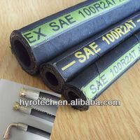 """1-1/4"""" id hydraulic hose pipe DIN EN 856 4SH 4SP"""