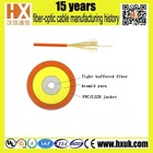 top qulaity PVC soft jacket tight buffer 1 core fiber patch cord cable fiber optic cable lighting