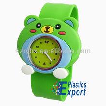 Hot fashion slap band wrist watch/ Cheap new slap style watch