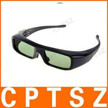 Battery Active Shutter 3D Glass For 3D TV