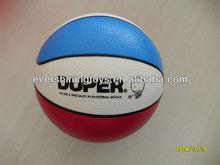 2015 inflatable beach ball with basket ball print