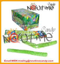 Super Sour Super Acid gummy candy straw-NTJ12404b