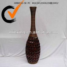2013 decorative wooden vase