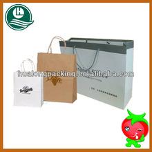 Ecofriendly hottest beautiful luxury kraft packaging bags