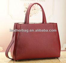 Classic genuine leather handbags women 2015 new fashion bag