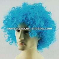 bright color PVC Fan wigs