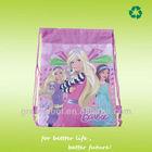 2013 popular laminated non woven kids drawstring backpack