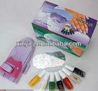 Nail Art Printing Machine DIY Color Printing Machine Polish Stamp 6 Pcs Pattern Template Kit Set Digital Nail Printer