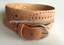 New fashion pu lady belt