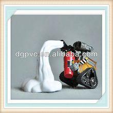 plastic girl ,plastic toy, duck figure