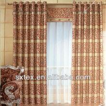 2012 Hot Sale Jacquard Blackout Luxury Curtain Fabric Design--HJ066