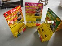pop cardboard business card display