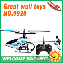 Great Wall Toys 9928 4CH 2.4G Mini Radio Control RC Helicopter(indoor&outdoor) with 4CH transmitter RTF