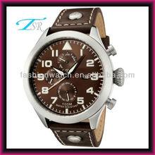 Wholesale Brown Color Chronograph Function Watch Quartz for men